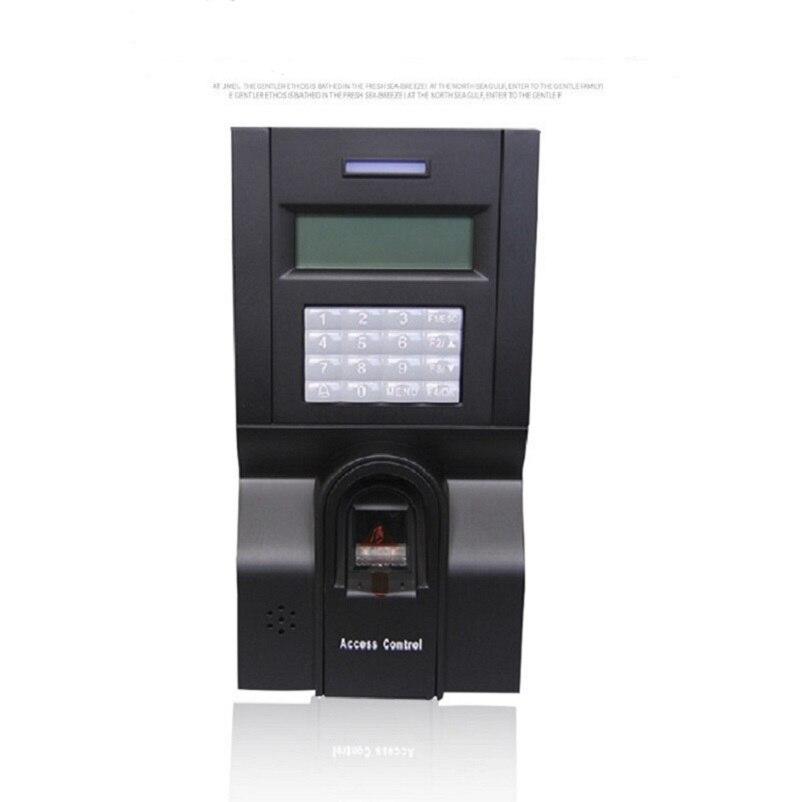 Terminal de contrôle d'accès de porte ZK F8 contrôle d'accès d'empreintes digitales avec 125 K RFID carte tcp/ip horloge d'empreintes digitales