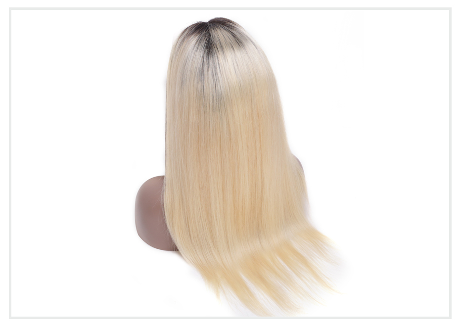 ombre blonde Lace Front Wig7