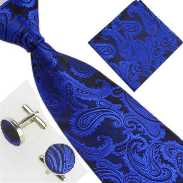 Men's Tie And Cufflinks Set