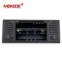 MEKEDE 1din Android 8.1 Car DVD GPS player For BMW E39 E53 X5 M5 with wifi BT GPS navigation 3G multimedia free shipping
