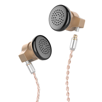 NICEHCK EBX Ear Hook Earbud HIFI Metal Earphone 14.8mm Dynamic Driver Unit Flagship Earbud With Detachable Detach MMCX Cable