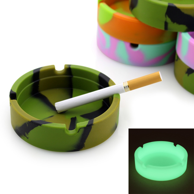 Sara-u Round Spinning Ashtray Portable Tire Shape Ashtray Smoking Cigarette Accessories