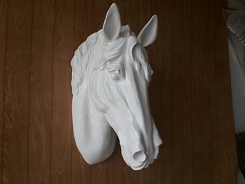sales Pure New arrival Home decoration animal head wall mural Horse head wall decoration supplies gangnam ktv soft