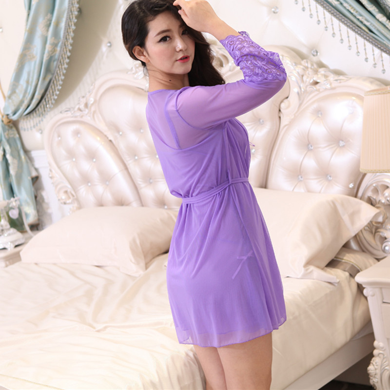 Summer Nightgown Pajama Dress Women Silk Sleepwear Nightgown Set Ladies Sleepwear Night Shirt Lenceria Sexy Palace