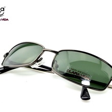 =CLARA VIDA= Custom Made Nearsighted Minus Prescription Shield Frame Rectangular Polarised