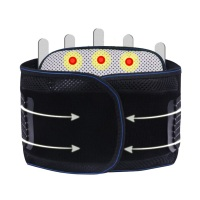 New Promotion Waist Belt Self heating Belts Steel Plate Mesh Waist Belt Sport Accessories Back Support Brace