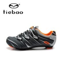 Tiebao Men Women Road Cycling Shoes Self-Locking Bicycle Shoes Bike Breathable Nylon-Fibreglass Sport Shoes zapatillas ciclismo