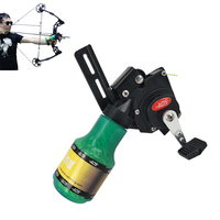 Archery Recurve Bow Fishing Spincast Reel for Compound Bow Shooting Outdoor Tool Fish Hunting Slingshot 6.8mm
