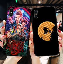 цена stranger things season 3 Soft silicone phone cover case for iPhone XS MAX XR X10 7 8Plus 6Plus SE 5 5S 6 6S 7 8