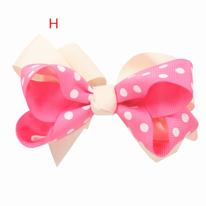 100pcs Valentine Red Hair Bow Fabulous Double Layered Boutique Lush