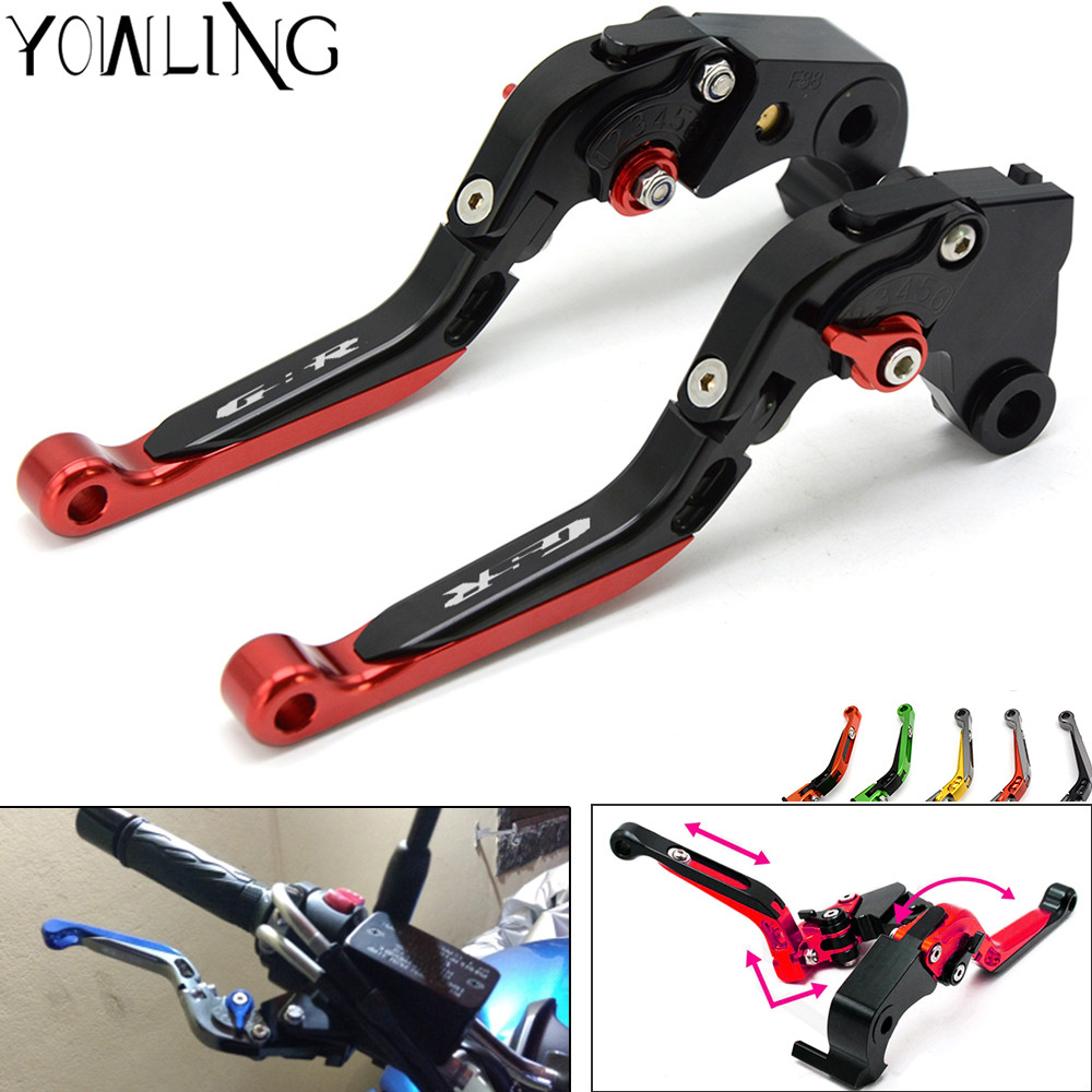 Motorycle Folding Extendable Brake Clutch Levers For SUZUKI GSR600 GSR 600 2006-2011 GSR750 GSR 750 2011-2016 GSR400 2008-2012 for suzuki gsr600 gsr 600 2006 2011 gsr750 gsr 750 2011 2016 gsr400 2008 2012 motorcycle accessories short brake clutch levers
