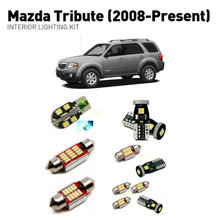 Led interior lights For mazda tribute 2008+  10pc Lights Cars lighting kit automotive bulbs Canbus