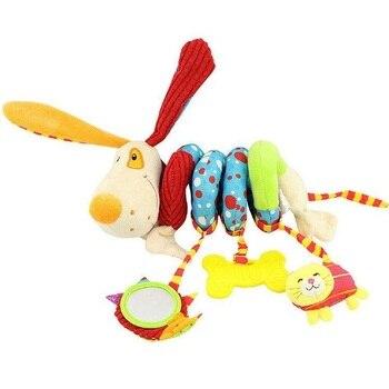 Newborn Weiche Plusch Spielzeug Babybett Hangen Spielzeug
