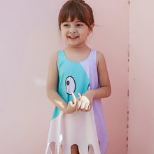 2019 New Baby Girl's Swimsuit Kid's One Piece Swimwear Children Founce Monokini  Contrast Color Swimsuit for Girl Beachwear цена 2017