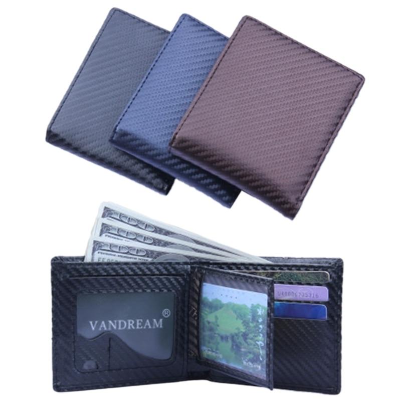Fashion Men/'s Bifold Leather Wallet ID Credit Card Holder Billfold Purse Clutch.