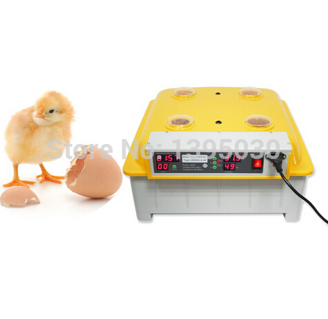 1PC/Lot 48 Eggs Digital Clear Egg Incubator Hatcher Automatic Turning Temperature Control JANOEL8-48 1pc lot 48 eggs digital clear egg incubator hatcher automatic turning temperature control janoel8 48