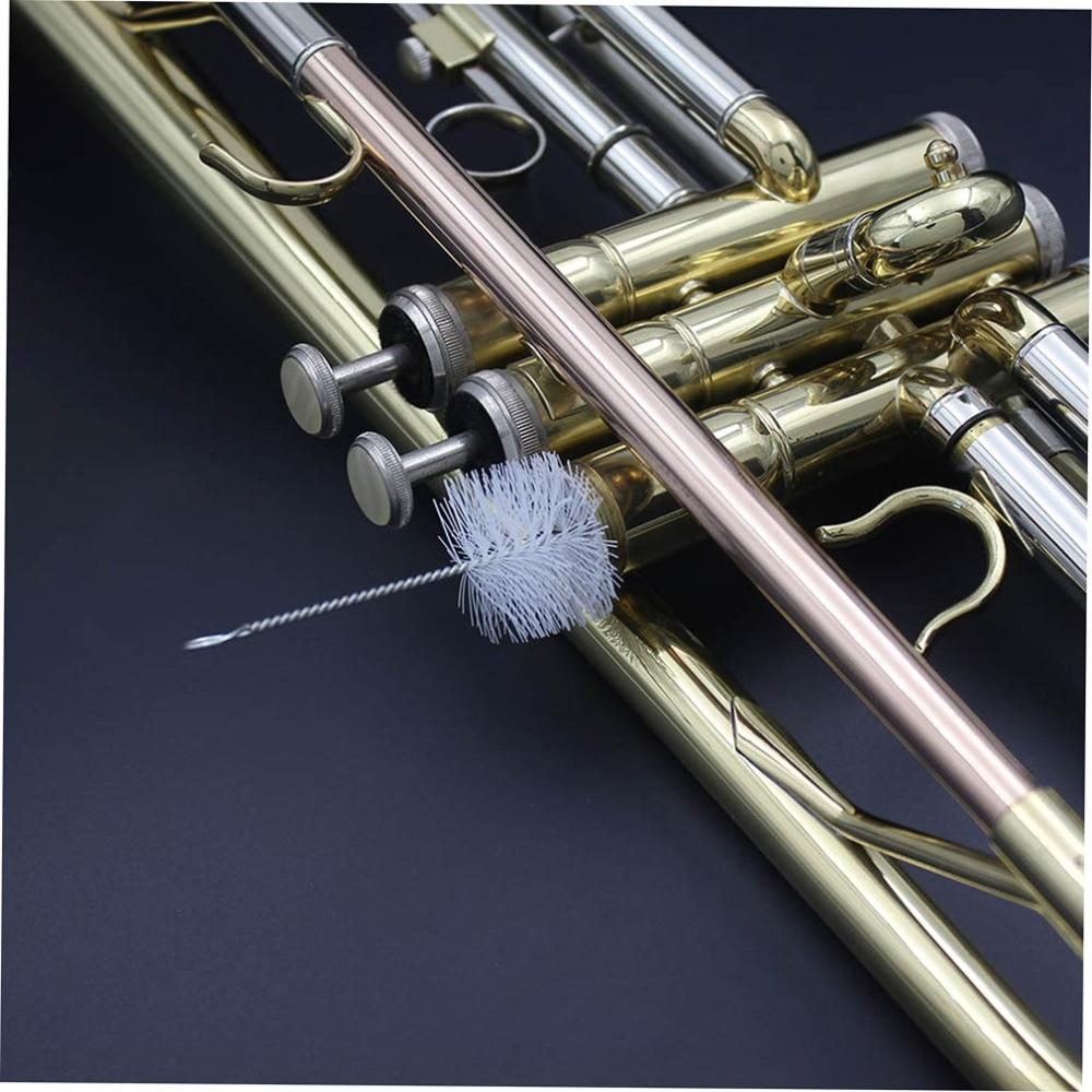 3 шт аксессуары для музыкальных инструментов маленький набор для чистки веревка щетка-насадка поршневая щетка