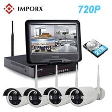 купить IMPORX 4CH 720P Wireless NVR Kit 10