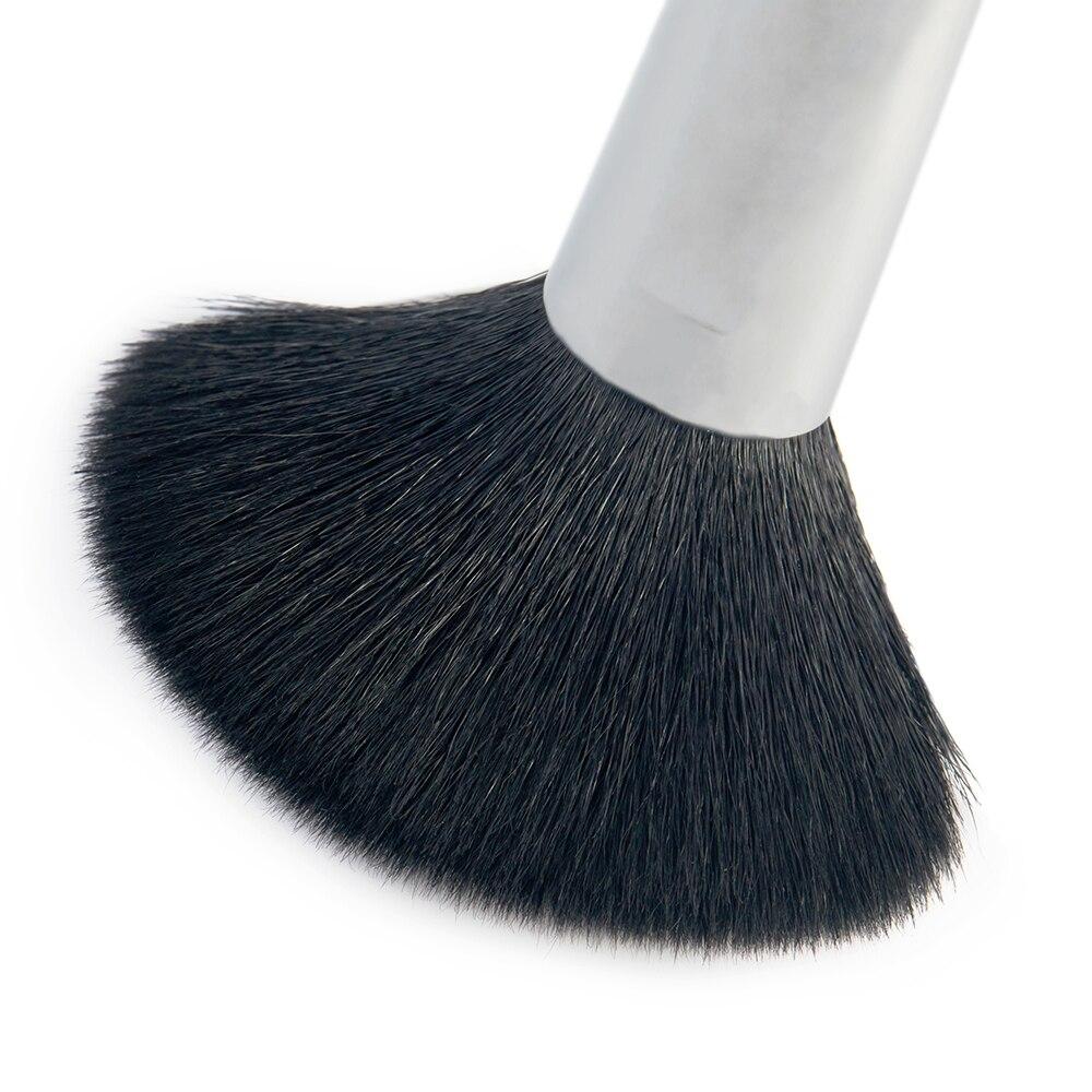 Jessup escovas 27 pçs pro conjunto de escova de maquiagem fundação olho rosto sombra batons pó mistura beleza escovas kit t133 - 5