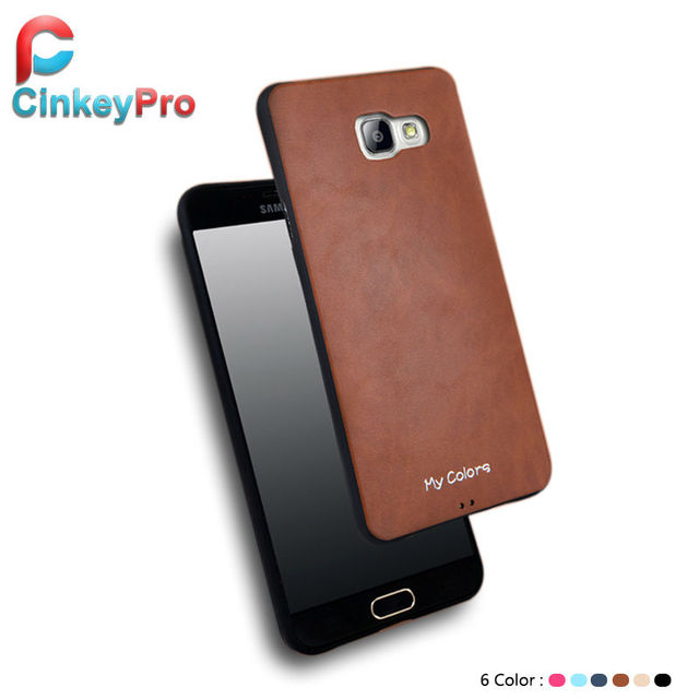 outlet store 5dfb5 699b8 US $4.27 |Phone Bag Cases For Samsung Galaxy A5 2016 Luxury Imitation  Leather Case A5100 High Quality Silicone Cover wholesale CinkeyPro on ...