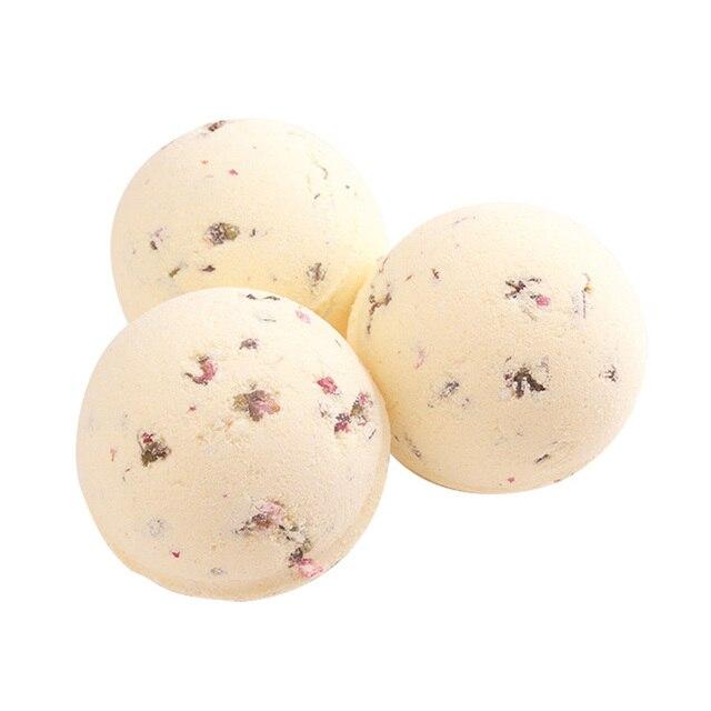 Sea Salt Bath Ball Rose Green Tea Lavender Lemon Milk Essential Oil Bubble Bomb Gift 88 1