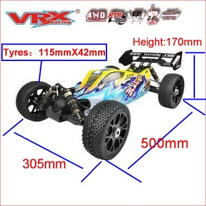 Image 5 - VRX Racing RH816 brushless 1/8 scale 4WD Electric off road rc car,RTR/60A ESC/3650 motor/11.1V 3250mAH Lipo Battery/2.4GHz