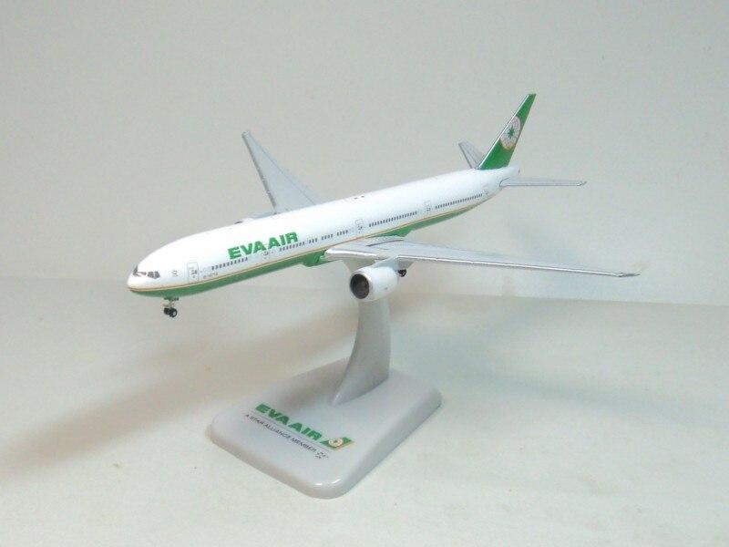 Hogan 1:500 EVA AIR 777-300ER Airlines B-16718 aircraft model