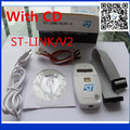1pcs new with CD driver ST-LINK/V2 ST-LINK V2(CN) ST LINK STLINK Emulator Download Manager STM8 STM32 artificial device