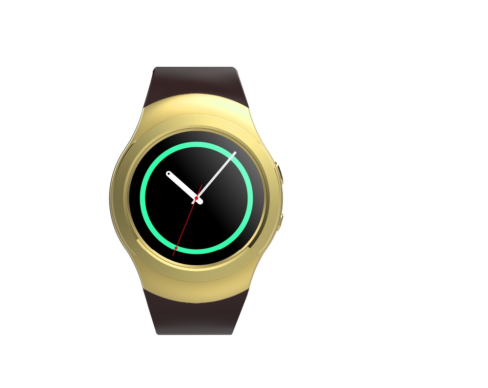Bluetooth Smart Watch AS2 S2 SmartWrist ROTATING BEZEL Clock Heart Rate Monitor Bluetooth Notifier For iOS Android Smartphone finow x3 plus k9 bluetooth smart watch android 5 1 mtk6580 quad core 1gb 8gb heart rate monitor clock for ios android pk no 1 d5