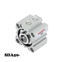 Free shipping SDA 50mm Bore 5/10/15/20/25/30/35/40/45/50/60/70/75/80/90/100mm