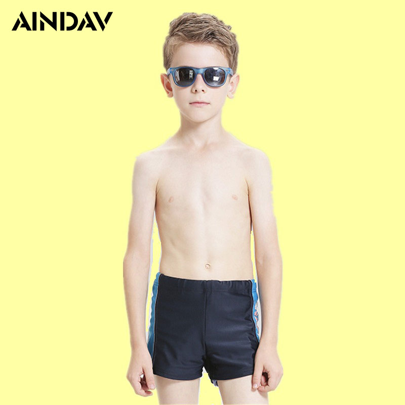 7-15 Year-old Children Swimwear Boys SwimTrunks Boxer Shorts Baby Print Sports Swimming Swimsuit Briefs Kids Swimsuits