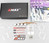 EMAX RS1104 Brushless Power Set 4 RS1104 Motor +4 pairs of TS2345 trilobites+1 F3 Femto Flight Control +4 Bullet 6A ESC BLHeli_S eplutus ep 1104 в тамбове