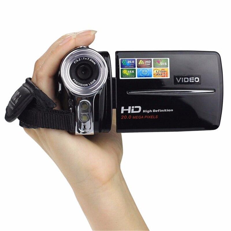 2017 incroyable 3 pouces TFT LCD caméra numérique 720 P HD 20MP caméscope vidéo haute qualité 16x Zoom numérique caméra DV