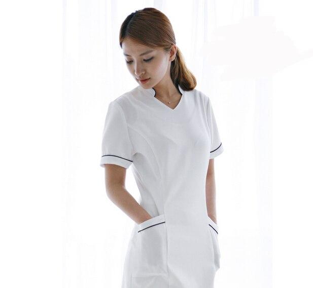 Custom Design Hospital Nurse Uniforms Beauty Salon Medical