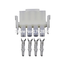 5PCS  Elevator FCI 4 Pin Wire Connector Motorcycle Male Female Plug Car Light Wire Harness Socket DJ3041-2.1-11 5pcs 4 pin dj7047y 2 5 21 female male fo turn light plug fo lamp socket fci car sensor connector for auto truck