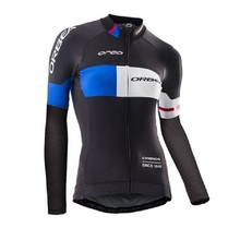 Фотография Pro Team Orbea Cycling Jersey Women Quick Dry Long Sleeve Women Clothing Ropa Ciclismo Maillot Ciclismo Sportswear Clothes
