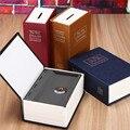 Защитный чехол-книжка для домашнего хранения  секретный сейф для хранения денег и ювелирных изделий с замком для ключей