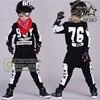 Kids Hip Hop Clothing Sets 2 Pieces Children Fall Fashion Clothes Cool Sweatshirt Harem Pants Teenage