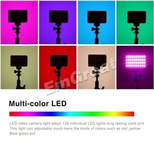Image 3 - Портативный карманный светодиодный видеосветильник GVM, RGB, полноцветный, CRI 95 +, двухцветный, 2000 5600K, встроенный аккумулятор, для Sony Canon