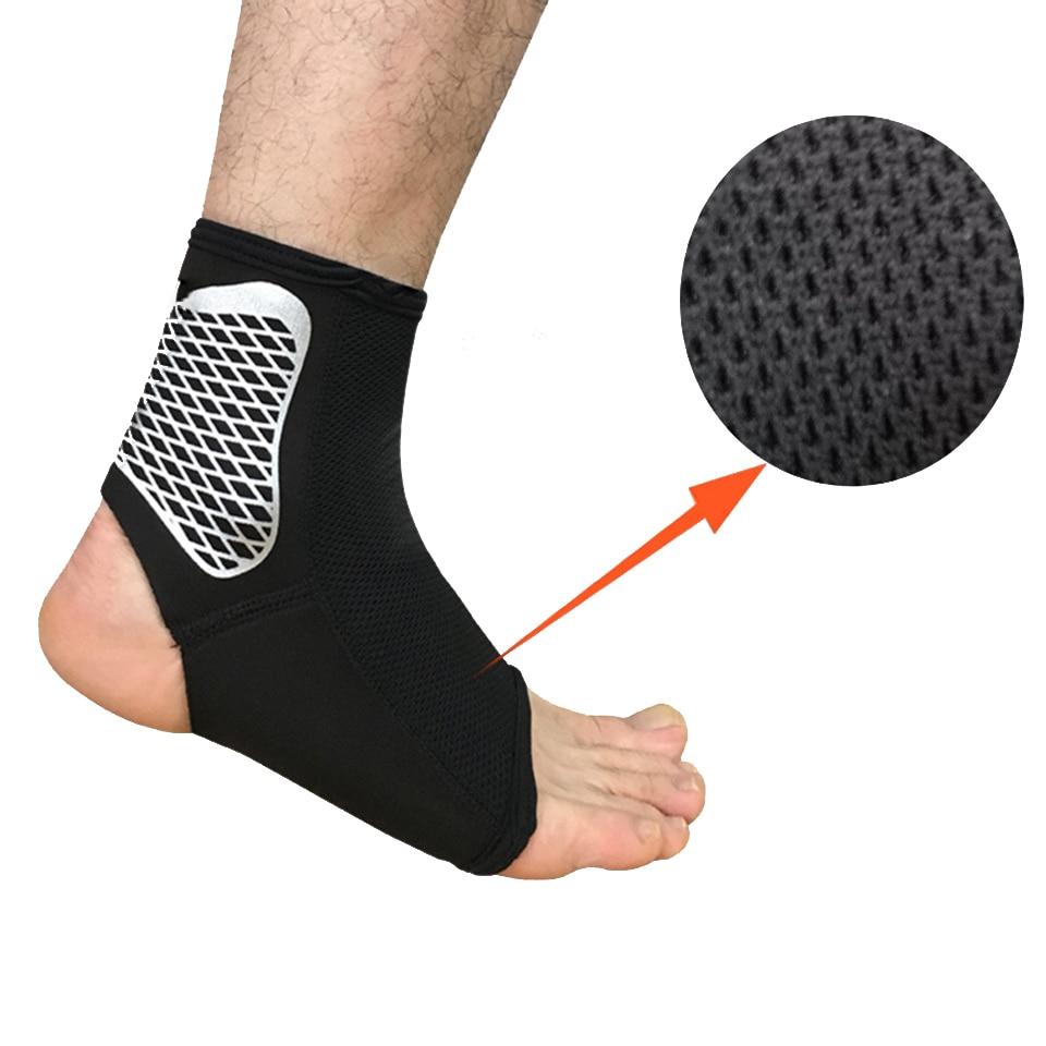 1PCS sportinės kulkšnies atramos kojinės pagalvėlės elastinės - Sportinė apranga ir aksesuarai - Nuotrauka 2