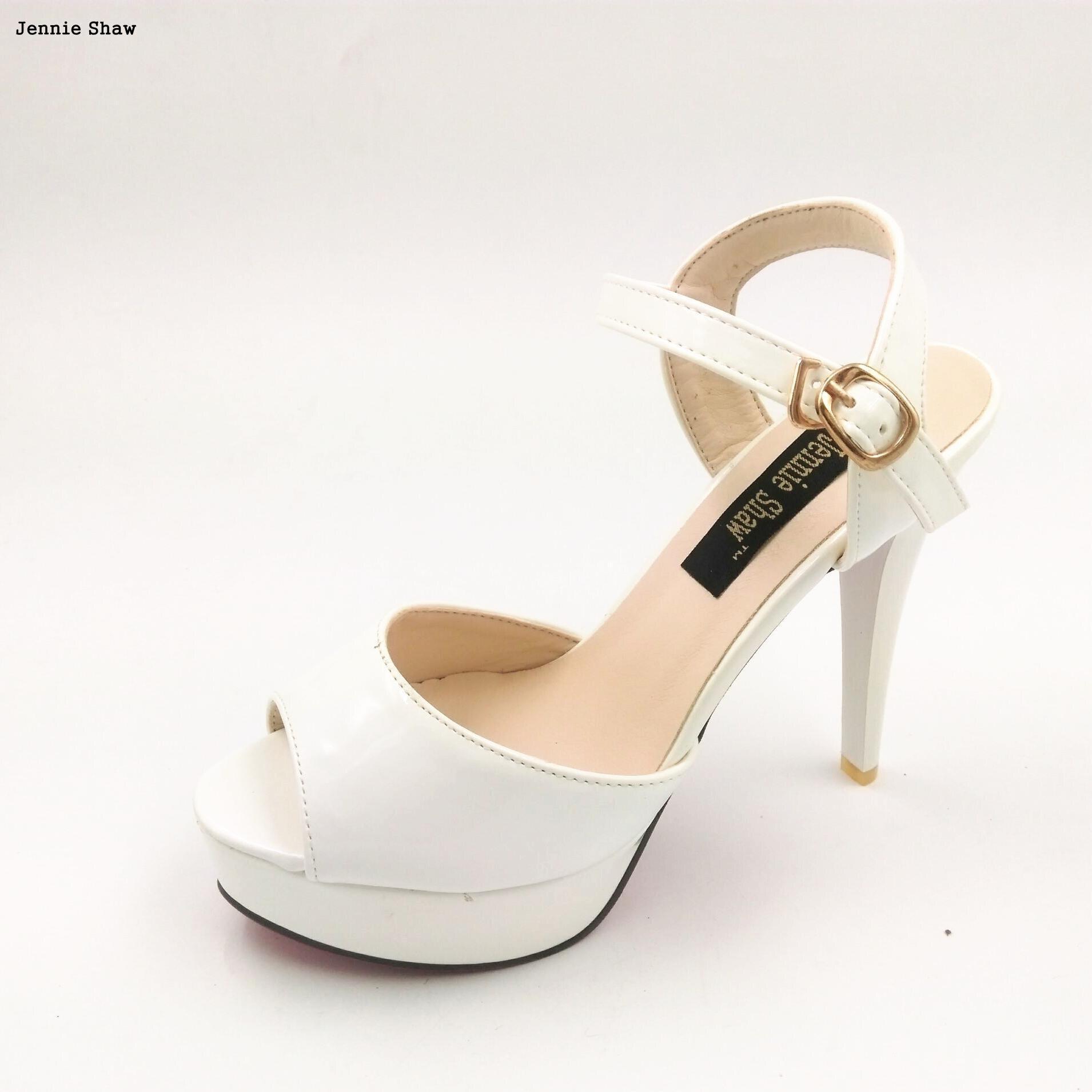 witte open damesschoenen