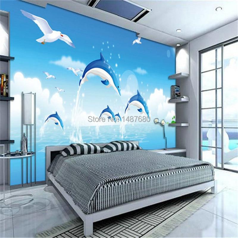 buy beibehang children 39 s cartoon photo murals 3d wall murals wallpaper tapete. Black Bedroom Furniture Sets. Home Design Ideas