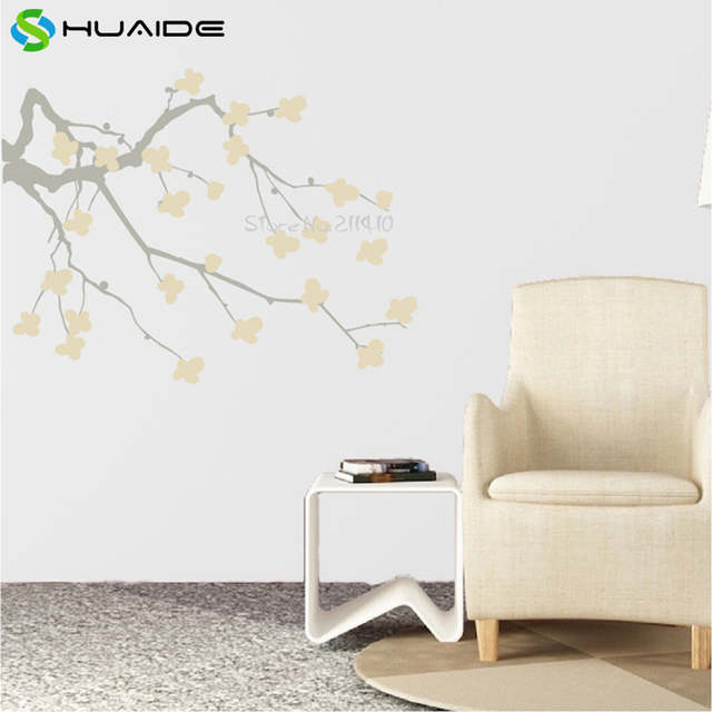 online shop cherry blossom branch wall decal custom color vinyl wall