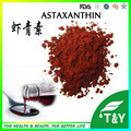 100% Natural Astaxanthin Powder, water soluble astaxanthin powder,Haematococcus Pluvialis Extract 1000g/lot