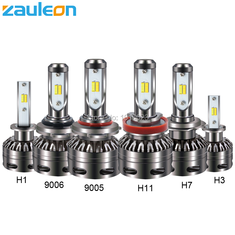 Zauleon H7 H11 H8 H9 H1 H3 9005 9006 9012 COB LED Car Headlight Bulb Dual color 3000K 6000K 8000lm LED Fog Auto Headlamp 1pair h8 h9 h11 car led headlight bulb cob 72w 8000lm car led fog lights auto led headlamp bulbs for vw hyundai toyota kia honda