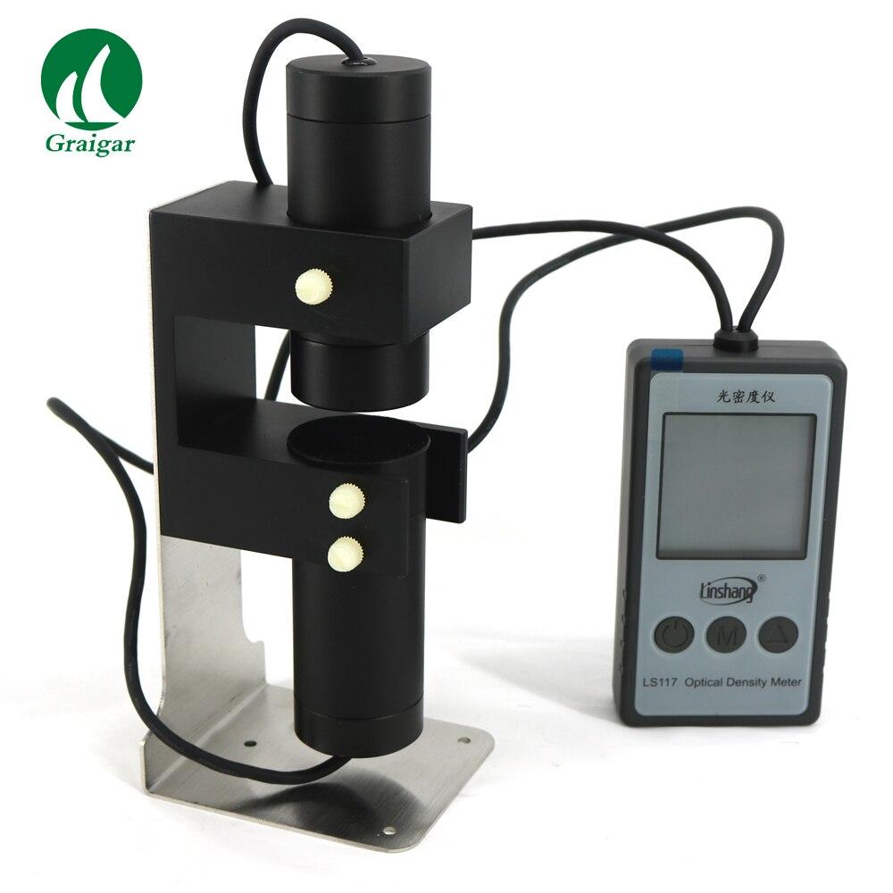 Портативный и высокая точность измеритель светопропускания LS117 оптическая плотность метр мера плотностью до 6,0 ОД
