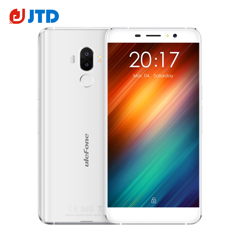 bilder für Ursprüngliches Ulefone S8 Android 7.0 5,3 Zoll Smartphone 13MP Dual Zurück kamera MT6580 Quad Core 3000 mAh 1 GB RAM 8 GB Touch ID handy