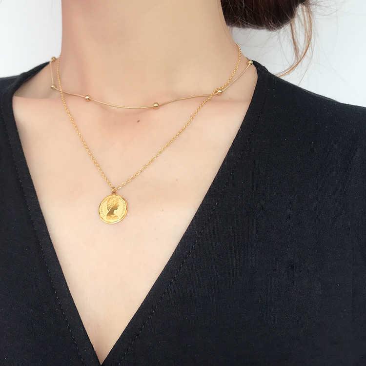 YUN RUO Rose Gold Silver Snake Chain Choker สร้อยคอไทเทเนียมเหล็กเครื่องประดับวันเกิดของขวัญไม่เคยเลือน Drop Shipping