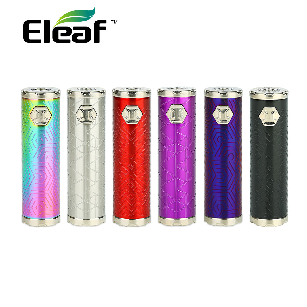 New 3000mAh Original Eleaf IJust 3 Battery with Max Output 80W Battery & 4 Color LED for Ello Duro Tank Electronic Cigarette Mod