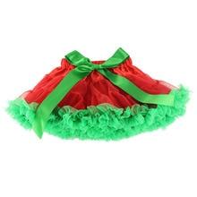 Детские Обувь для девочек оборками юбка-пачка Дети Луки шифон Слои американки Юбки для женщин детская сценического танца Балетные костюмы Юбки для женщин для маленьких Обувь для девочек